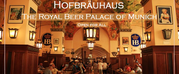 Hofbrauhaus a Beer Palace in Munich